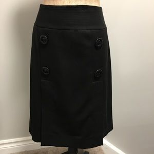 🇨🇦 Women's Black A-Line Skirt Size 10